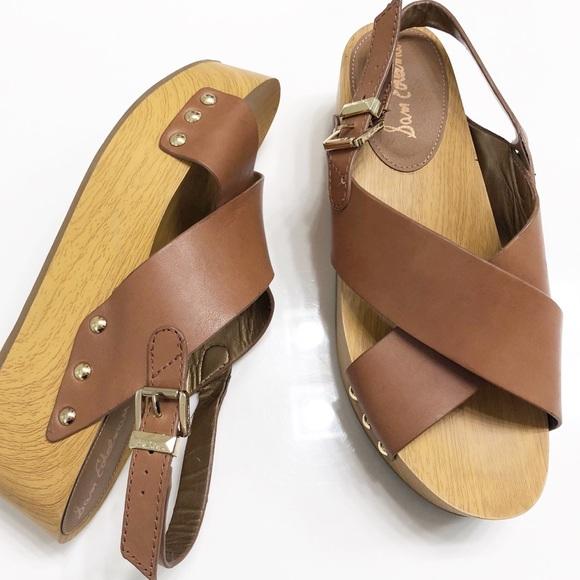 0edbe7bbfce Sam Edelman Bentlee Platform Leather Sandals 9M. M 5bbd0b09baebf6261597c325